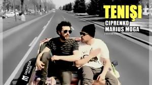 "Ciprenko feat. Marius Moga, ""Teniși"" (artwork)"